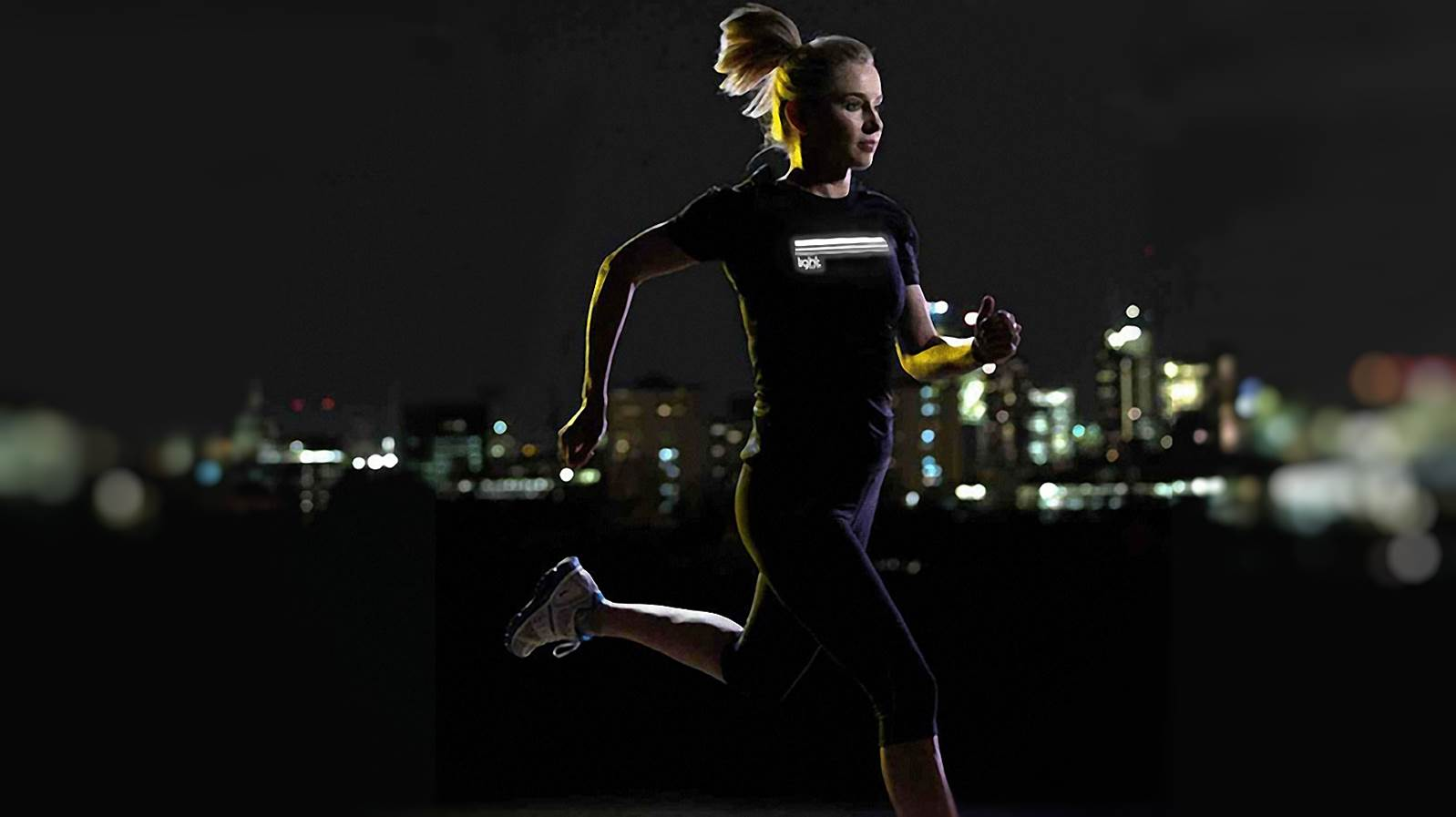 Running, cycling, wearable advertising apparel